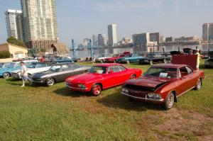 Corvair Concours along the St John's River