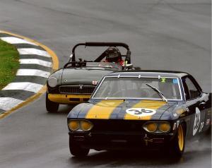 Rick Norris at Road Atlanta, Walter Mitty Challenge-2009
