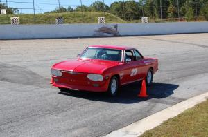 2011 Corvairs in the Curves Autocross