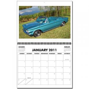 2011 Corvair Calendar